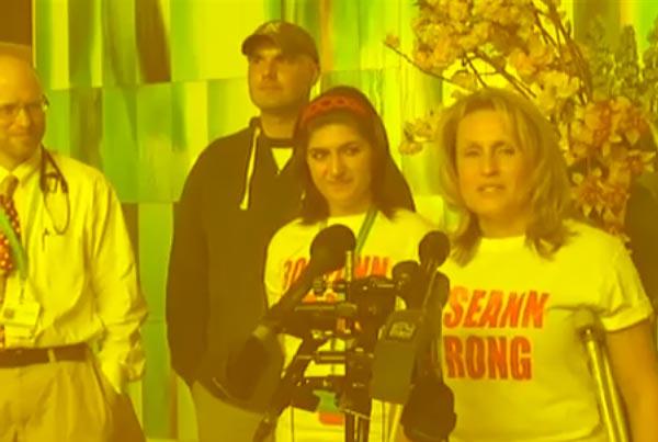 Special Homecoming For Marathon Bombing Survivor