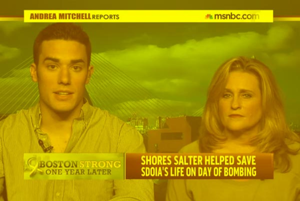 Boston Marathon bombing survivor speaks out