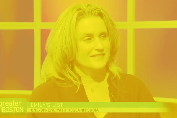 Greater Boston Video: Emily's List With Roseann Sdoia