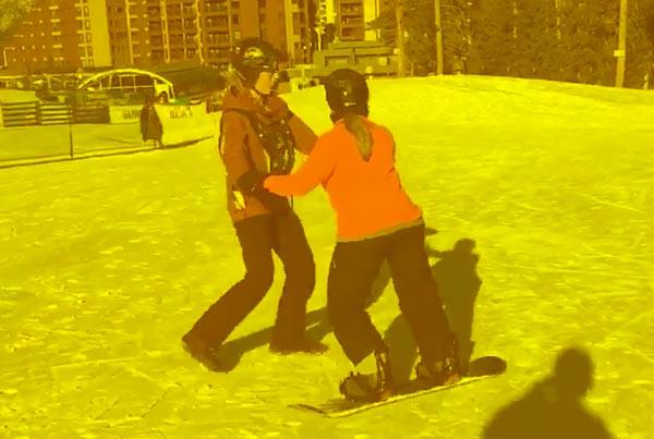 Roseann Sdoia Snowboarding